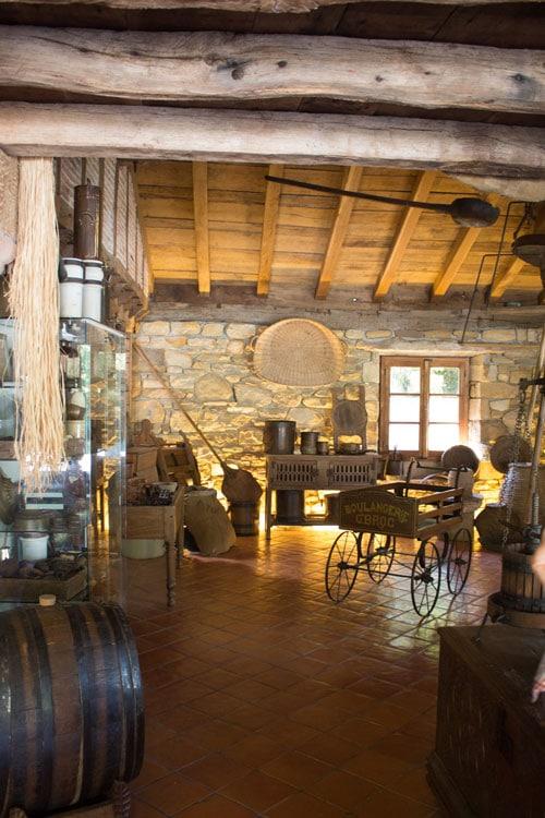 Het Musée du Gâteau Basque in het Baskenland in Frankrijk.