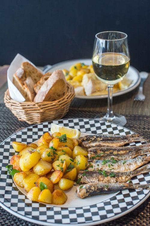 De 'Bonnotte' is de typische aardappelsoort van het eiland en een echte traktatie. © M. Bruley en Valery Joncheray
