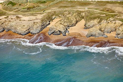 Luftaufnahme Corniche