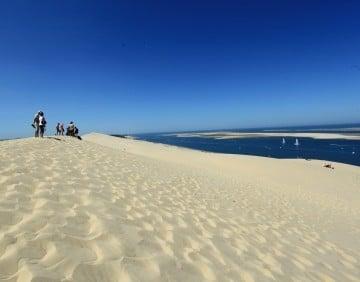 Duinen in Dune du Pilat.