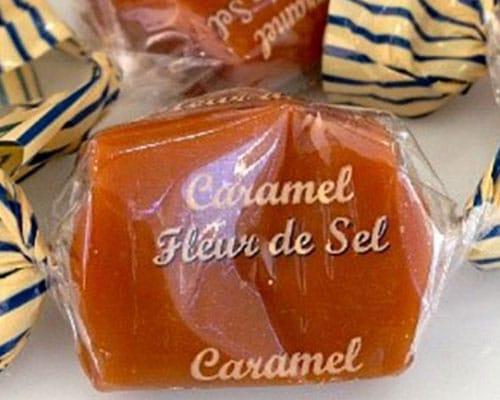 Caramel-Bonbons mit Fleur de Sel.